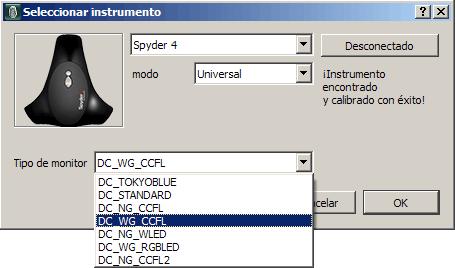 Spyder4 en basICColor Display / SpectraView Profiler